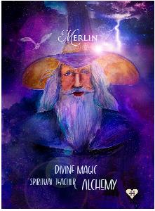 Multidimensional Oracle Card Merlin