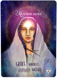 Multidimensional Oracle Card Mother Mary