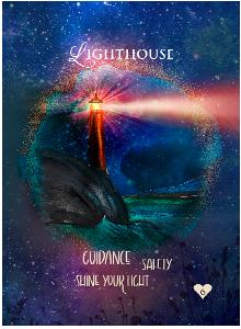 Multidimensional Oracle Card Lighthouse